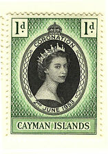Mint Never Hinged/MNH Single Caymanian Stamps