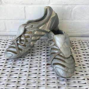Adidas Predator Pulse SG David Backham Sliver Dragon Football Boots UK 10 RARE