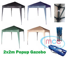 More details for mcc® 2x2m pop-up gazebo waterproof outdoor garden marquee canopy ns