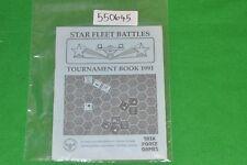 star trek fleet battles tournament book 1991 task force games book (550645)