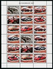 SURINAM 2007 Ferrari Autos Automobile Cars 2144-2151 ZD-Bogen ** MNH