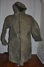 WWII US Navy Department Contract NXsx 36266  Sz 42 Jacket N1 Deck Jacket W/ HOOD