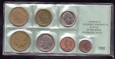 Greece. 7 Greek Coins 1 Drachma to 100 drachmai 1990 F-XF Greek Democracy, No: 5