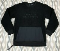 Under Armour ColdGear Men's Be Seen Sherpa Pullover Sweater Black Top Size XL