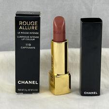 Chanel Rouge Allure Luminous Intense Lip Colour ~ 119 CAPTIVANTE ~ .12 Oz / 3.5g