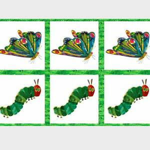 """ANDOVER """"THE VERY HUNGRY CATERPILLAR"""" METAMORPHOSIS A-5280-M by the panel"""