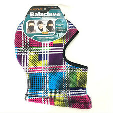 Seirus Innovation Balaclava Warm Wicking Colorful 3-n-1 Size S/M