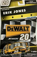 2019 NASCAR AUTHENTICS 1/64 WAVE 5, ERIK JONES #20 DEWALT TOYOTA CAMRY A1