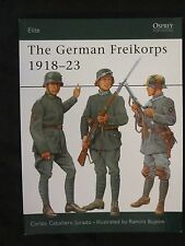 Osprey Book: The German Freikorps 1918–23 - Elite 76 - post World War One