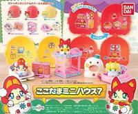 BANDAI Kokotama mini house 7 Gashapon 6set mascot capsule Figures Complete set