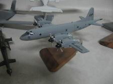 P-3 Orion VP-11 Grey Desktop Airplane Wood Model