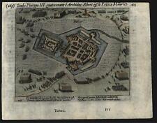 Bredevoort Netherlands Holland 1616 city plan battle map troops Baudart
