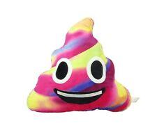 Colorful Poop Smile Emoji Pillow Emoticon Princess Cushion Soft Plush Toy Doll