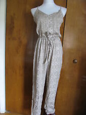 Free People women's stone comb rayon romper size medium NWT
