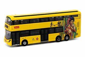 Tiny City Die-cast Model Car - KMB VOLVO B8L WRIGHT Bruce Lee (Yellow)
