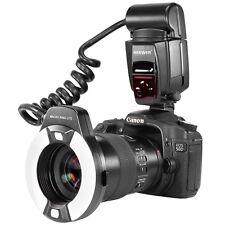 Macro Ring Flash Light Close-up Flash Light for Canon Nikon etc Hot Shoe Camera
