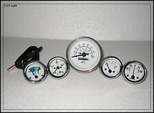 Jeep Gauges Kit Tachometer Temp Oil  Fuel  Amp Gauge