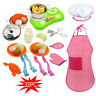 KIDS PRETEND COOKING 32PC Playset Kitchen House Cookware Play Toddler Gift Toy