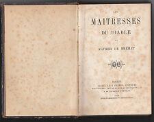 Les maîtresses du diable Alfred de Brehat / Alfred Guézenec 1870
