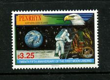 Apollo 11 stamp mnh 25th anniversary 1994 Penrhyn #441 Moon Landing Armstrong