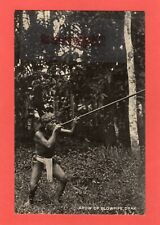 More details for dayak dyak hunter arow of blowpipe north borneo ? malaya rp pc unused ref t115