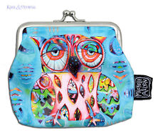"Colourful ""Owl"" COIN PURSE by Allen Designs"
