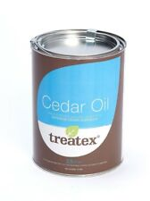 Treatex Exterior Cedar Oil/Wood/Finish/Care/Protect/UV & Water Resistant/ 2.5L