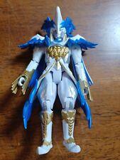 "Power Rangers Prince Vekar 5"" Figure Villain Bandai White, Blue, Gold"