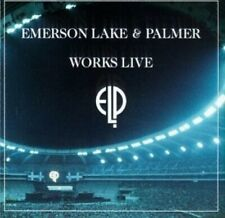 CD: EMERSON LAKE & PALMER Works Live NM 2 discs elp