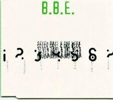 B.B.E. Seven days and one week-Remixes (1996) [Maxi-CD]