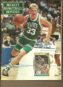 Beckett Basketball Monthly Magazine Larry Bird February 1991