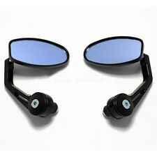 """MOTORCYCLE 7/8"""" HANDLE BAR END MIRRORS FOR SPORTS BIKE STREET FIGHTER COLORS"""