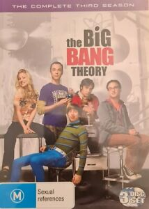 The Big Bang Theory : Season 3 (DVD, 2010, 3-Disc Set)
