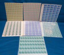 Lot of US Plate Blocks, 3, 5 & 6 Cent + VFW Seasons Greetings, Uncancelled