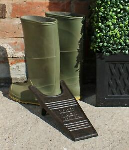 Cast Iron Wellington Wellies Boot Walking Shoes Removal Jack Classic Design