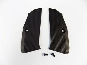 ZENDL® CZ 75 High Quality Grooved Grips - Made in Czech Republic - BLACK