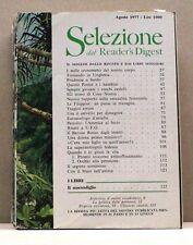 SELEZIONE DAL READER'S DIGEST - AGOSTO 1977