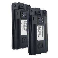 2PACK - Li-ion Battery for Motorola CP110 RDX MURS RDV5100 RDU4160D 2-Way Radio