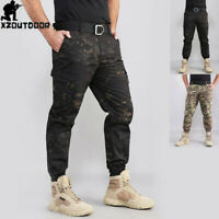 Mens Military Tactical Cargo Pants Combat Army Urban Casual Trousers Camouflage