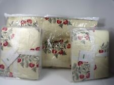 Pottery Barn Zarina Multi Reversible Quilt Full Queen w/ 2 King Shams #6454