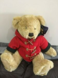 2003 Harrods Christmas Teddy Bear with original tags, collectable