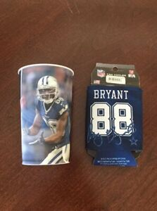 DEZ BRYANT #88 DALLAS COWBOYS Koozie Can Holder Cooler BRAND NEW Drinking Cup