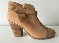 Rag & Bone Harrow Camel Suede Leather Ankle Boots. Size 39.5