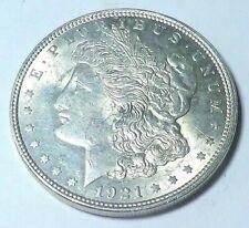 1921 P  Morgan Silver Dollar  Brilliant Uncirculated