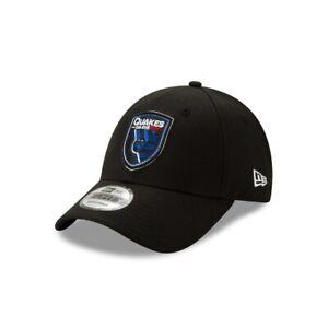 San Jose Earthquakes New Era 9FORTY MLS Adjustable Strapback Hat Cap Soccer 940