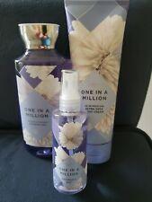 Bath & Body Works One In A Million Lot Fine Fragrance Mist Shower Gel Body Cream