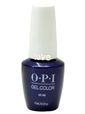 Opi GelColor New Gel Nail Polish Soak-Off Gc B61- Opi Ink