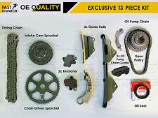 Per HONDA 2.2 CTDI n22 n22a1 n22a2 Timing CAM CHAIN Tensionatore ruote dentate Pompa Kit