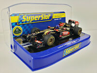 "Slot Car Scalextric Superslot H3518 Lotus F1 Team 2014 #8 "" Romain Grosjean''"