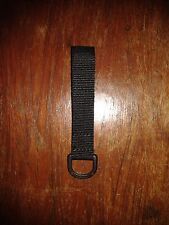 NYLON NATO APPROVED D RING ON WEBBING ( SECURITY, POLICE, PRISON, MILITARY )